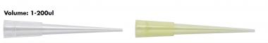 MBP Universial Fit Tip,1-200uL, Sterile, Yellow, Indivi wrap, 5000/cs