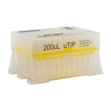 Biotix uTip Universal Fit 200uL, Non-Filter, X-Resin, Sterile 960/pk
