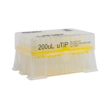 Biotix uTip Universal Fit 200uL, Filtered, X-Resin, Sterile 960/pk