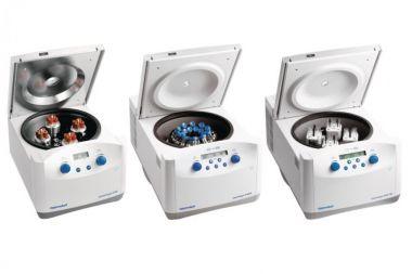 Centrifuge 5702R, refrigerated, 15/50mL adaptors, rotary knobs, 120 V