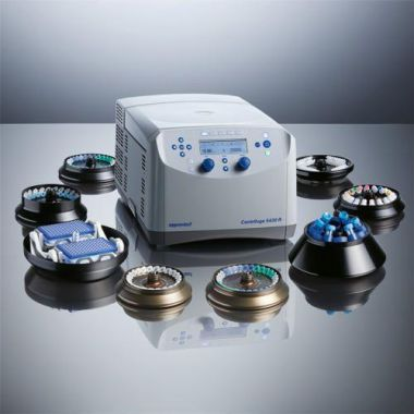 Eppendorf 5430R Centrifuge, Refrigerated, KNOB, 6x15/50ml ROTOR, 120V