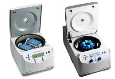 Eppendorf Centrifuge 5430 non-refrigerated, w/A-2-MTP rotor & wind shield, knob