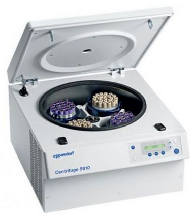 Eppendorf Centrifuge 5810 non-refrigerated, 15/50mL tube adaptor, keypad, 120 V