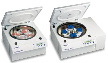 Eppendorf Centrifuge 5810 R, refrigerated with 4x500 mL rotor, 120 V, 50/60 Hz