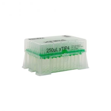 Biotix xTip 250uL Sterile, Low-Retention LTS Tip, Racked (4800/case)