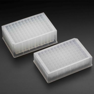 Celltreat 96 Deep Well Storage Plate, 2.0mL, PP, Pyramid-Bottom, Non-Sterile, cs/25