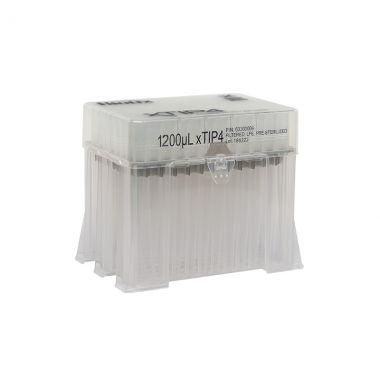 Biotix 63300009 1200uL xTip4 racked tips,8pk/ rk,5pk/cs,Pre-Ster,low retent