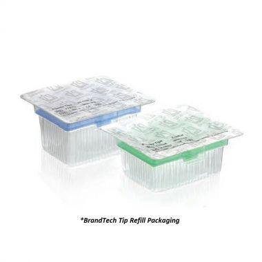 BrandTech BRAND Standard Pipette Tips, Refill Packs