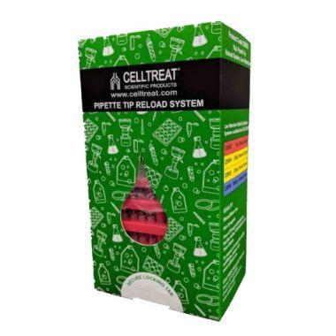Celltreat 229052 10uL Low Retention Pipette Tip Reload System, Non-sterile