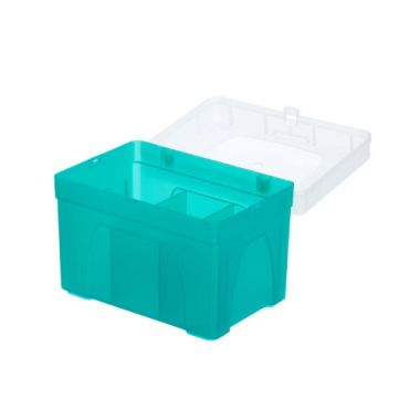 Celltreat 229062 1000uL Pipette Tip Rack, Empty Rack for Reload System