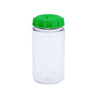 Celltreat 229464 250mL Centrifuge Bottles,Polycarbonate,Knurled Seal Cap