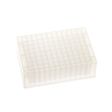 Celltreat 229574 96 Deep Well Storage Plate, 2.0mL, PP,Square Well,V-Bottom