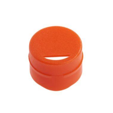 Celltreat 229931 Cap Insert for CF Cryogenic Vials, Orange ,Non-sterile