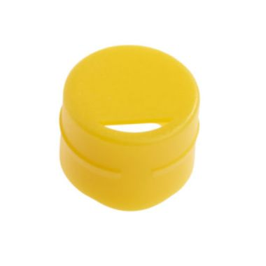 Celltreat 229932 Cap Insert for CF Cryogenic Vials, Yellow, Non-sterile