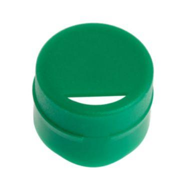 Celltreat 229933 Cap Insert for CF Cryogenic Vials, Green, Non-sterile