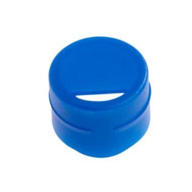 Celltreat 229934 Cap Insert for CF Cryogenic Vials, Blue, Non-sterile