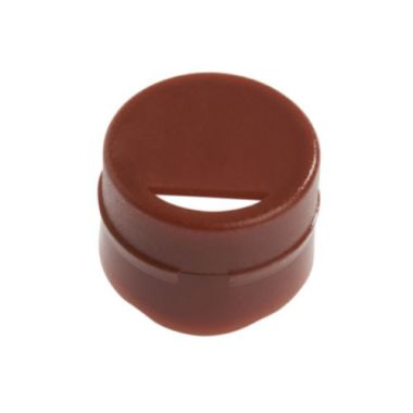 Celltreat 229937 Cap Insert for CF Cryogenic Vials, Brown, Non-sterile