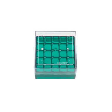 Celltreat 229942 Storage Box, CF Cryogenic Vial, 25 Place, Polycarb,Non-sterile
