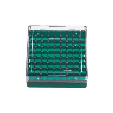 Celltreat 229945 Storage Box, CF Cryogenic Vial, 100 Place,Polycarb,Non-sterile