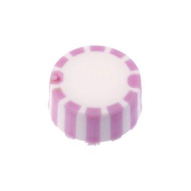 Celltreat 230840P CAP ONLY,Screw Top MicroTube Cap,Grip Cap w/Int. O-Ring,Purple