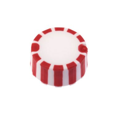 Celltreat 230840R CAP ONLY,Screw Top Micro Tube Cap,Grip Cap w/Int. O-Ring,Red