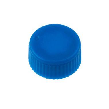 Celltreat 230841B CAP,Screw Top Microtube Cap,O-Ring,Opaq.,Blue,Non-sterile