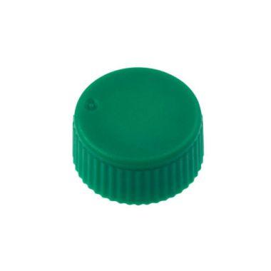 Celltreat 230841G CAP,Screw Top Microtube Cap,O-Ring,Opaq.,Green,Non-sterile