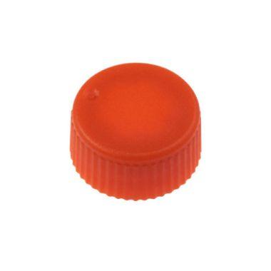Celltreat 230841N CAP,Screw Top Microtube Cap,O-Ring,Opaq.,Orange,Non-sterile