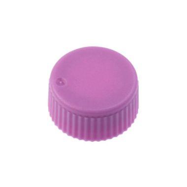 Celltreat 230841P CAP,Screw Top Microtube Cap,O-Ring,Opaq.,Purple,Non-sterile