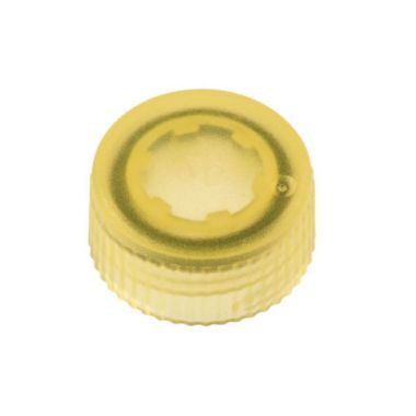 Celltreat 230842Y CAP,Screw Top Microtube Cap,O-Ring,Translucent,Yellow,Non-ster