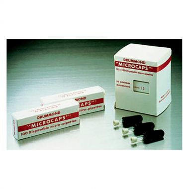 Drummond Scientific Microcaps, 0.5uL, 32mm
