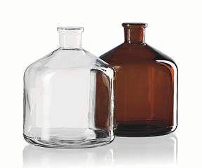 BrandTech Spare Reservoir Bottle 2000mL Amber