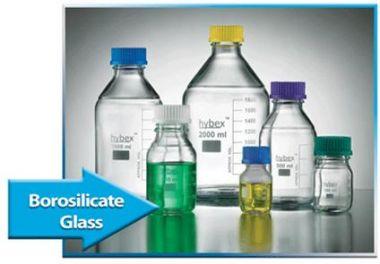 hybex™ Media storage bottle, STARTER PACK (GL45) blue cap (Includes 2x100ml, 3x250ml, 3x500ml and 2x1000ml)