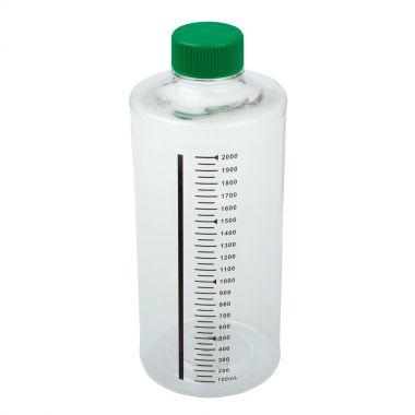 Roller Bottle 2,000mL for Suspension Culture, Non-Vent Cap, Sterile