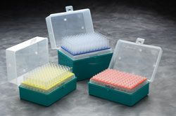 Labcon ZAP™ 1000uL Filter tips, Sterile, UltraFine™, Racked, 576/pack