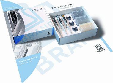 BrandTech Transferpette S Pipette Standard Starter Set (10uL, 100uL, 1000uL)