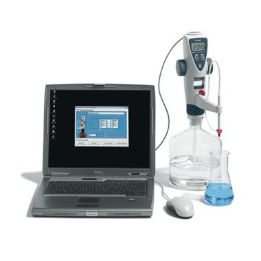 BrandTech Titrette Bottletop Burette w/ RS232 Computer Interface